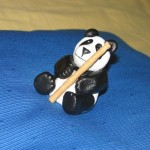 At last a bamboo pole where made of Worbla's Finest Art and the cute little Panda was complete