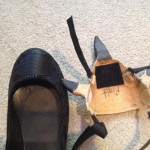 Here you can see how to make a cover for a shoe with Worbla's Finest Art...