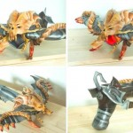 After a lot more awesome ornaments and manually painting this is how the glooming Demon Hunter's crossbow looked like