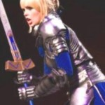 ...and here the complete Saber-Cosplay in action, winning the ECG finals 2012 in Paris... congratz for that :)