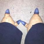 ... creating very cool Zojja feet