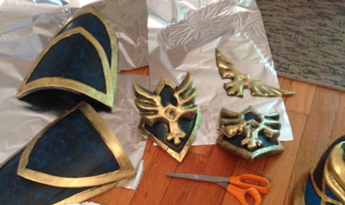 Armor made from Worbla