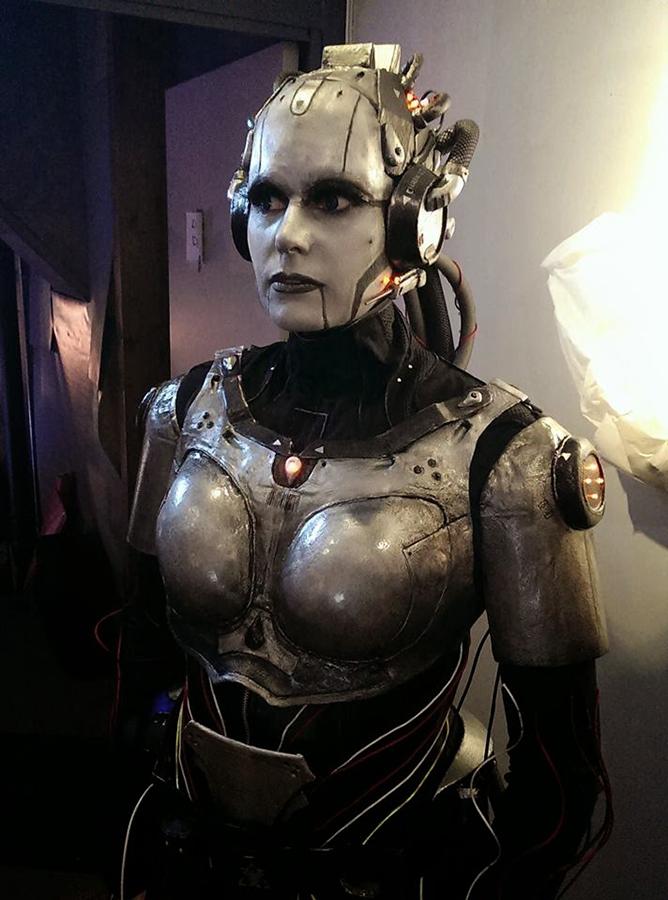 Adjutant cosplay