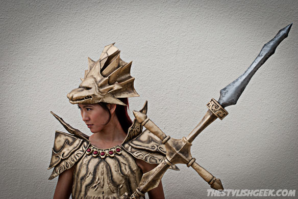 Dragonslayer Ornstein profile