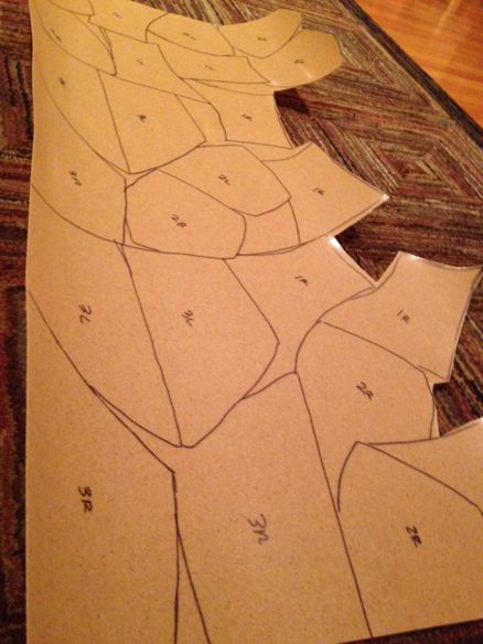 Worbla pattern making