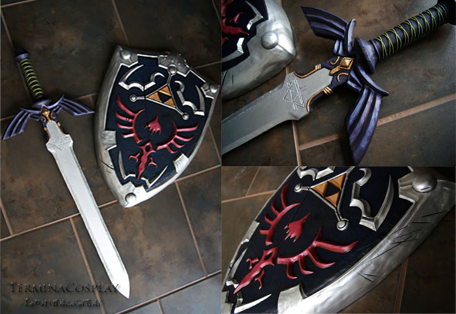 master_sword_and_hylian_shield_by_terminacosplay-d7ugubi