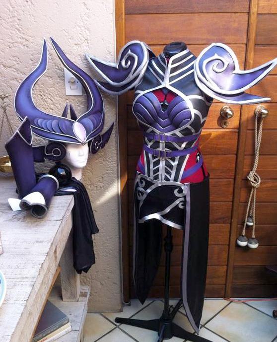 Justicar syndra cosplay. Com.