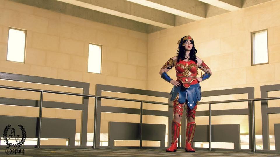 Detailed Wonder Woman Breastplate Worbla Thermoplastics