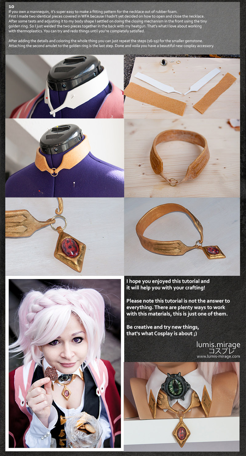 AMIRA : RAGE OF BAHAMUT Genesis Necklace Tutorial