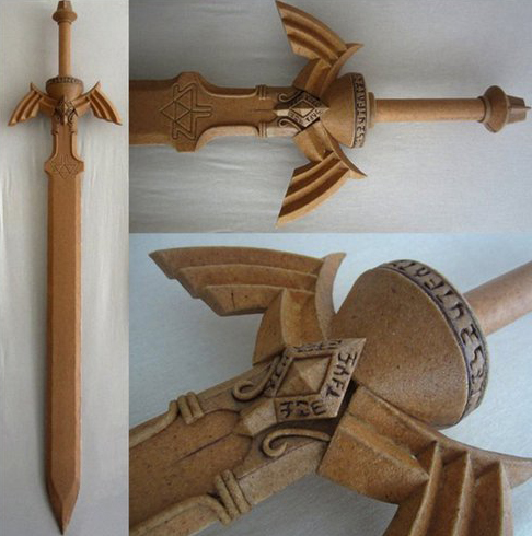 Legend Of Zelda Master Sword Worbla Thermoplastics