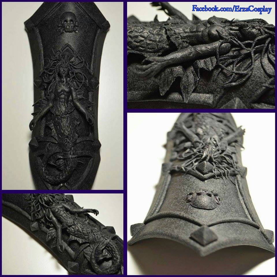 More examples of fine detailing, this piece done by Erza Cosplay