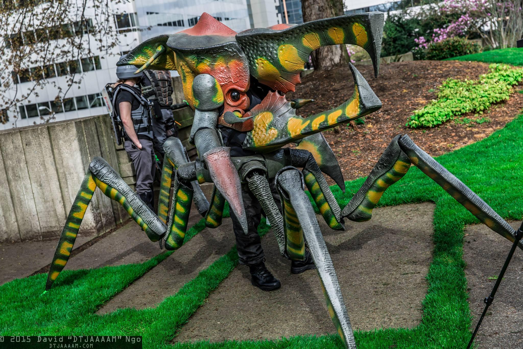 Starship Troopers Arachnid Worbla Thermoplastics
