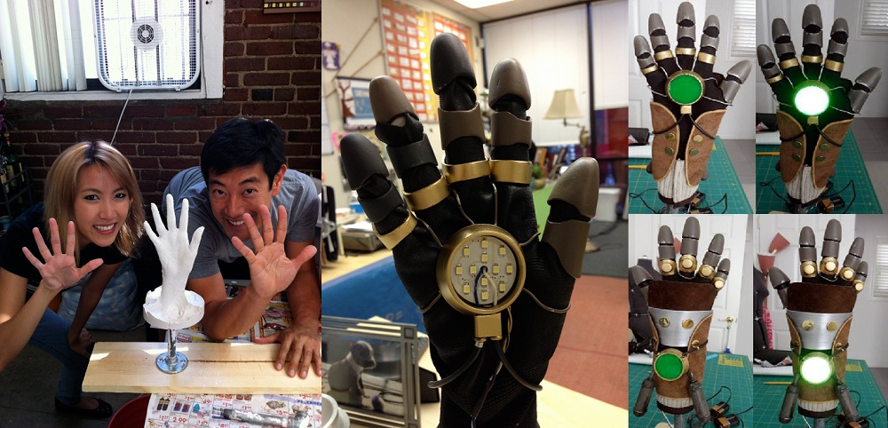 Grant Imahara's Equalist Glove - from Nickelodeon's Legend of Korra.