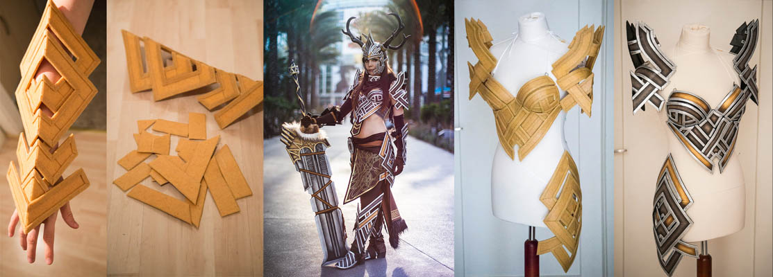 Examples of Worbla used for Costumes by Kamui Cosplay