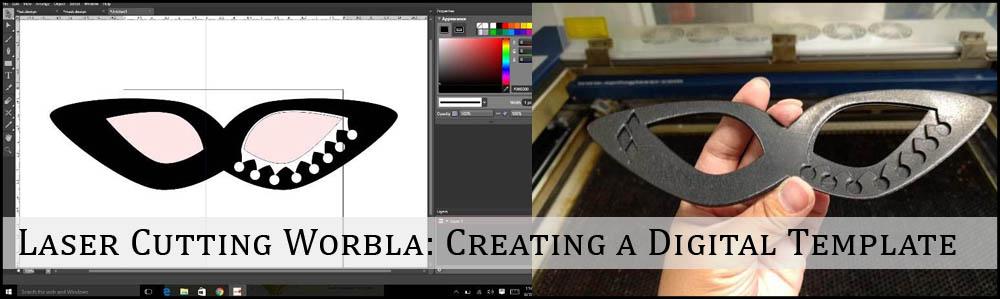 Laser Cutting Worbla Creating A Digital Template Worbla