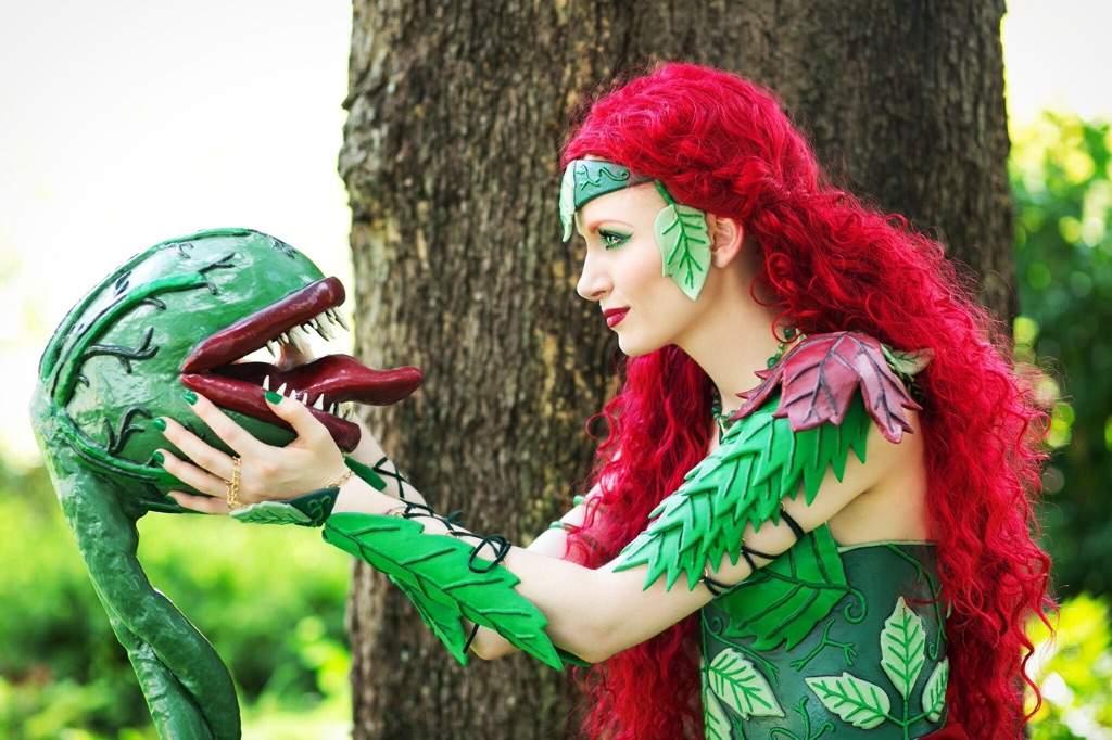 Poison Ivy S Monster Staff Worbla Thermoplastics