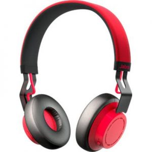 these headphones are red