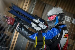Soldier 76 by Agaeti Cosplay, photo by KauNi Cosplay & Photography