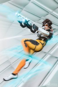 Tracer by Bec's Cosplay Wonderland, photo by Martie B. Photographie