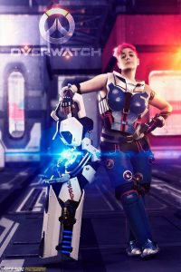 Zarya by Chuel Cosplay , photo by Patricia Bueno Photography