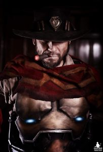 McCree by Darkforce Cosplay, photo by Reagan Smash Productions