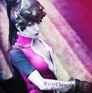 Widowmaker by Cosplay Lullabie & Props , photo by Steeve Li Photography