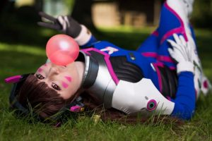 D.Va by Namalyn Cosplay, photo by SollieFoto.se