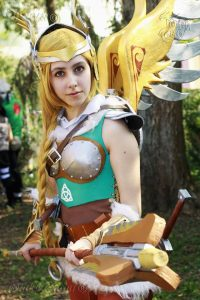 Valkyrie Mercy by Quinn cosplay, phoro by Otaku Gattai