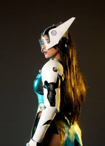 Symmetra by Bec's Cosplay Wonderland, photo by Bermingham Photography