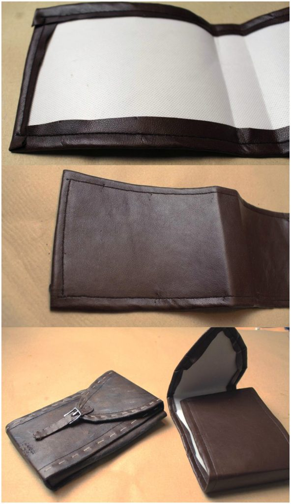 Leather pouch by Monono Cosplay
